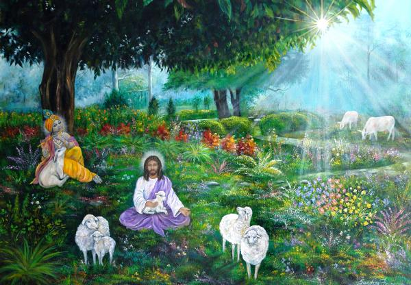 lord-jesus-and-lord-krishna-sundara-fawn